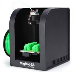 MIGBOT S6 Informações práticas metal FDM Desktop 3D Printer Suporte Windows Linux Mac