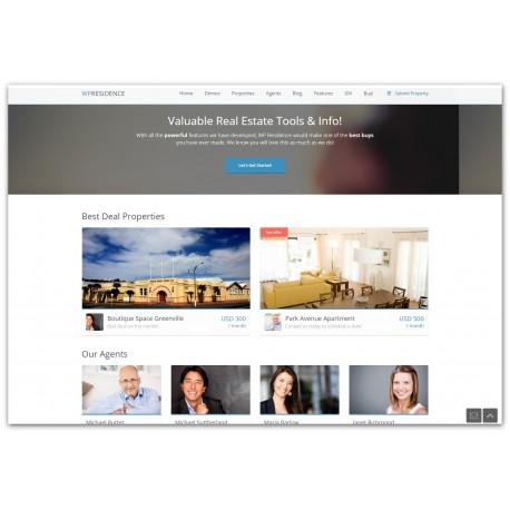WordPress Residence Real Estate