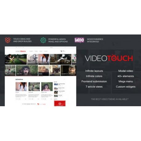 WordPress VideoTouch
