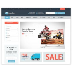 WordPress Venedor - Ultimate + WooCommerce - Premium PLUS