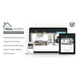 WordPress Real Homes Real Estate Theme Premium