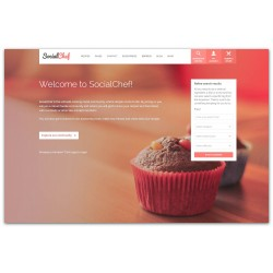 WordPress SocialChef - Social Recipe Premium