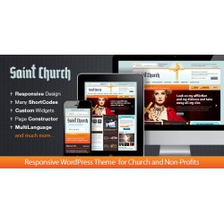 WordPress SaintChurch Responsive Church Theme