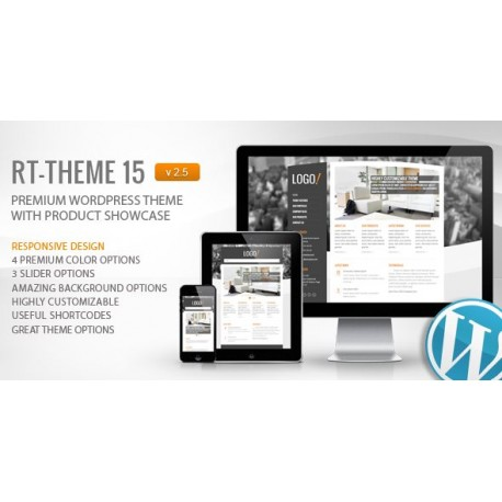 Wordpress RT-Theme 15 Premium