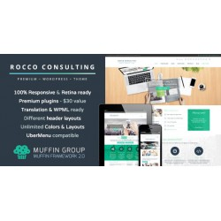 WordPress Rocco Flat Premium
