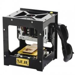 NEJE DK - 8 Pro 300mW laser gravadora máquina Printer - PRETO