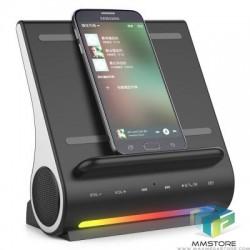 AZPEN D100 Qi sem fio Carregador Bluetooth 4.0 HiFi Speaker