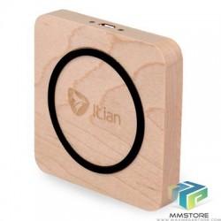 Carregador Wireless Qi Itian em Madeira