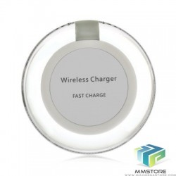 Carregador Wireless Qi Carregamento Rápido