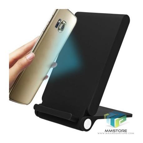 Carregador Wireless Qi 3 nucleos para iPhone/Android
