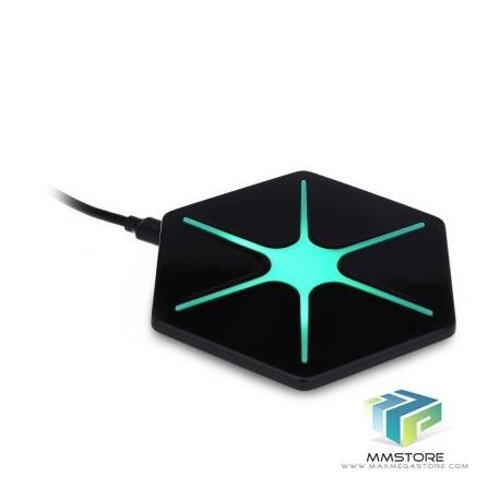 Carregador Wireless Qi Hexagram